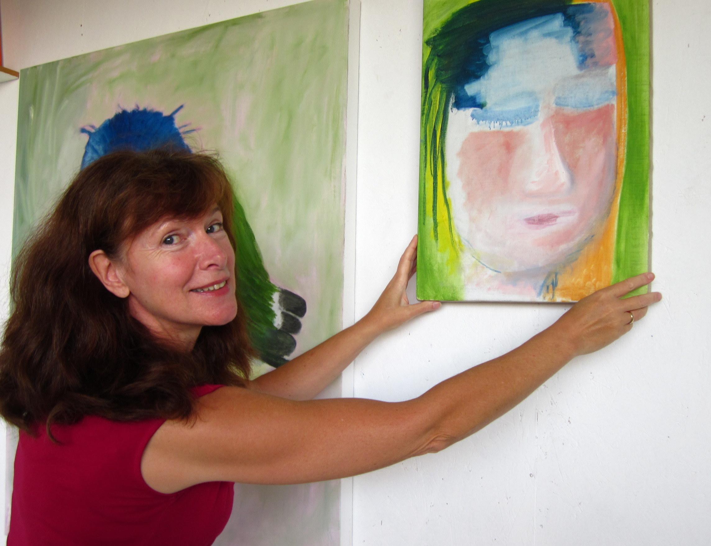 Kunstenaar Wietske Lycklama à Nijeholt, hedendaagse-schilderkunst, hedendaagse-kunst