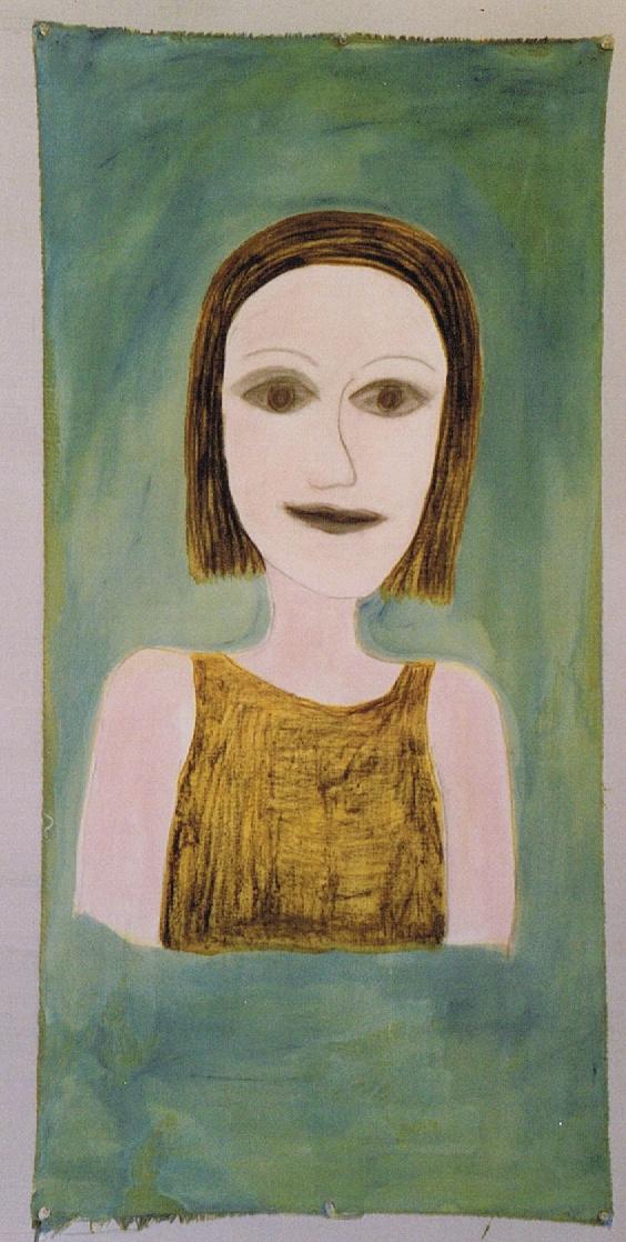Zelfportret, hedendaagse kunst, kunstenaar Wietske Lycklama à Nijeholt