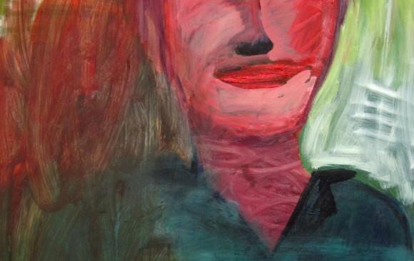 Zelfportret, hedendaagse schilderkunst, kunstenaar Wietske Lycklama à Nijeholt