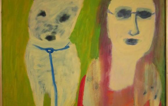 Dieren kunst, hedendaagse schilderkunst, kunstenaar Wietske Lycklama à Nijeholt