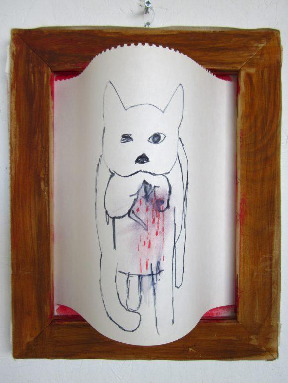 Dieren kunst, hedendaagse kunst, kunstenaar Wietske Lycklama à Nijeholt