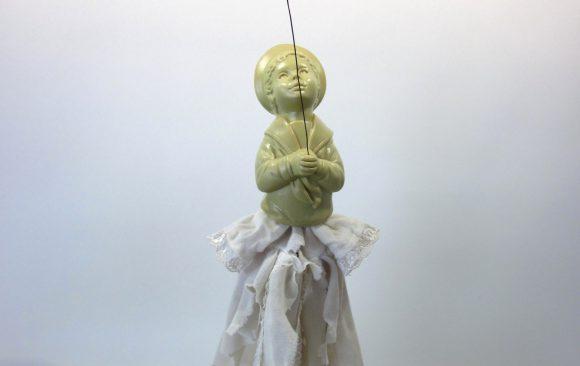 Armoedig geloof, textielkunst, kunstenaar Wietske Lycklama à Nijeholt