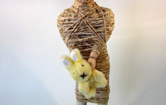 Monddood, textielkunst, kunstenaar Wietske Lycklama à Nijeholt