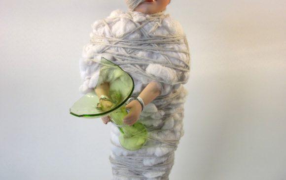 Wolf in schaapskleren, textielkunst, kunstenaar Wietske Lycklama à Nijeholt