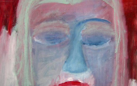 Dromenmeisje 2, hedendaagse schilderkunst, kunstenaar Wietske Lycklama à Nijeholt