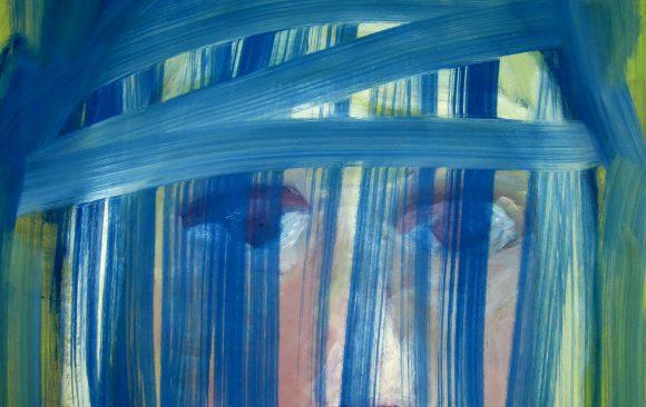 Huisje, boompje ......, hedendaagse schilderkunst, kunstenaar Wietske Lycklama à Nijeholt.