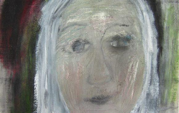 Grande dame 2, hedendaagse schilderkunst, kunstenaar Wietske Lycklama à Nijeholt