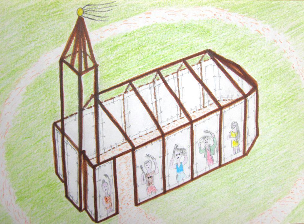 tekening-haren-in-de-wind, under-de-toer, LF2018, kunstenaar Wietske-Lycklama-à-Nijeholt
