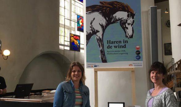 Grote Kerk, Haren-in-de-Wind-presentatie, LF2018-Under-de-Toer, openlucht beleving, Monique Jansma, kunstenaar Wietske Lycklama à Nijeholt