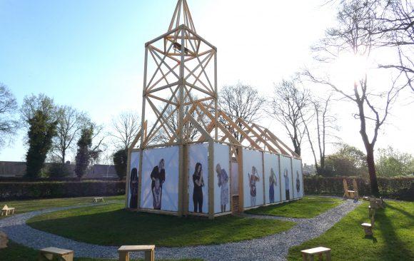 Kunstinstallatie-Haren-in-de-Wind-LF2018- kunstenaar-Wietske-Lycklama-à-Nijeholt