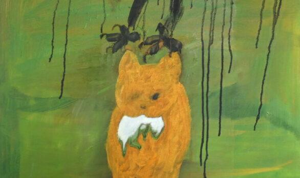 Buit, kunstschilderij dieren, hedendaagse schilderkunst, dierenkunst, kunstenaar Wietske Lycklama à Nijeholt