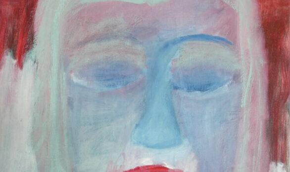 Dromenmeisje, hedendaagse schilderkunst, kunstenaar Wietske Lycklama à Nijeholt