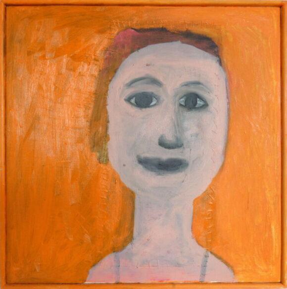 Facelift, zelfportret, hedendaagse schilderkunst, kunstenaar Wietske Lycklama à Nijeholt