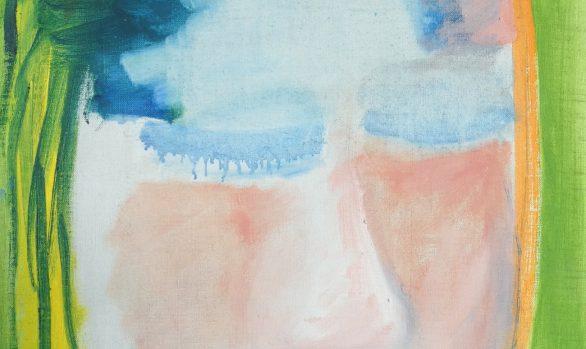 Shy, Zelfportret, hedendaagse schilderkunst, kunstenaar Wietske Lycklama à Nijeholt