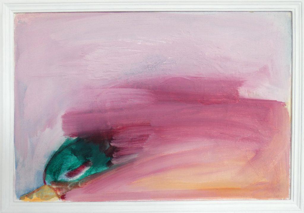Verliefde eend, kunstschilderij dieren, hedendaagse schilderkunst, kunstenaar Wietske Lycklama à Nijeholt