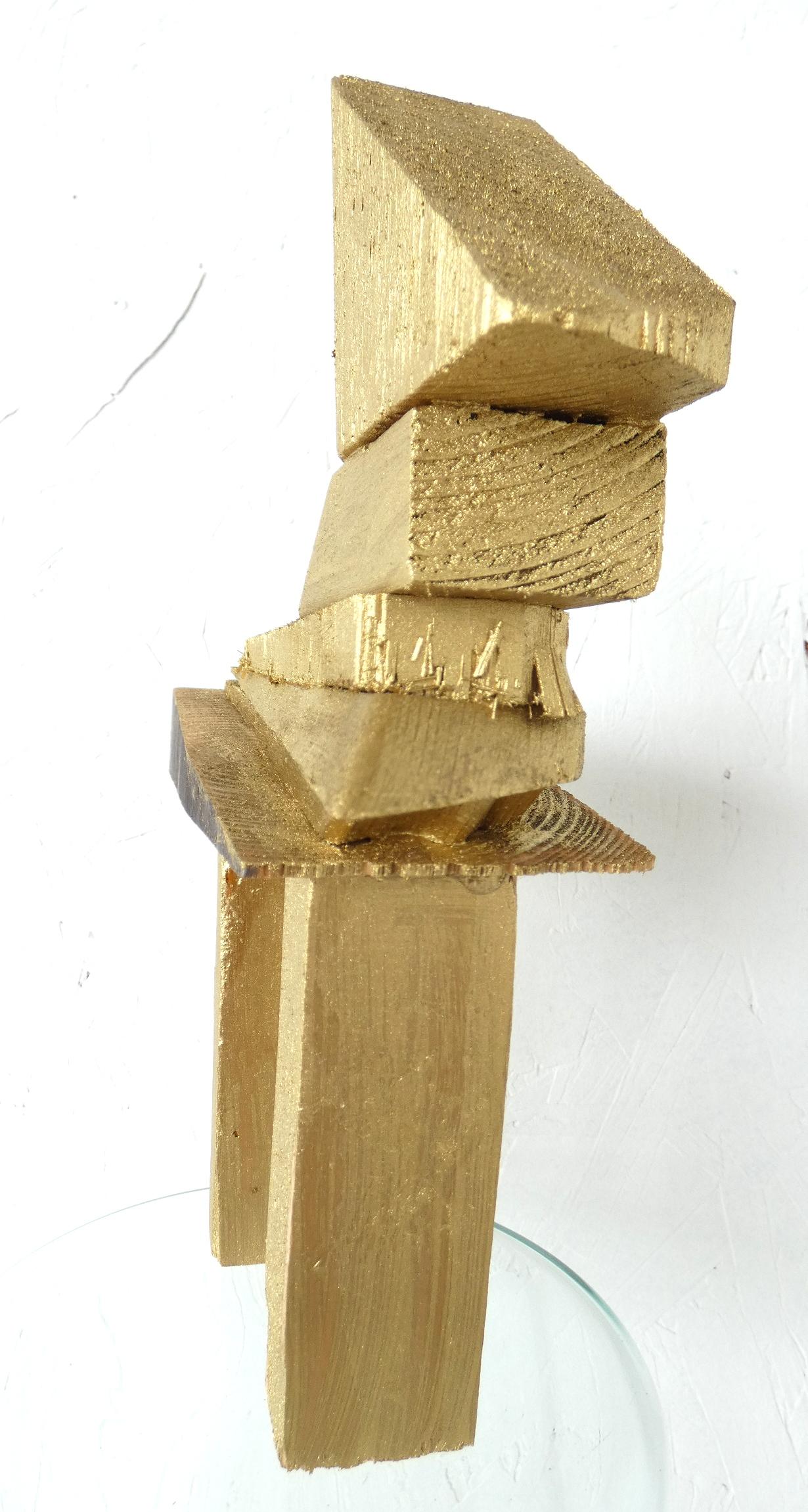 Bling bling paardje kunst, horse, kunstbeeld, artwork, artlovers, hout, goud, kunst kopen, mixed media, sculptuur, kunstenaar Wietske Lycklama à Nijeholt