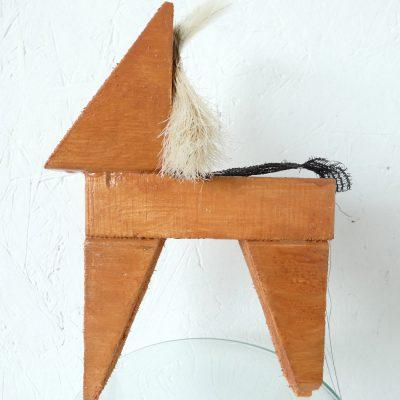 IJslander kunstbeeld, icelandic horse, paardenhaar, artwork, kunst, art, artlovers, hout, kunst kopen, artcollectors, sculpture, art at home, kunstenaar Wietske Lycklama à Nijeholt