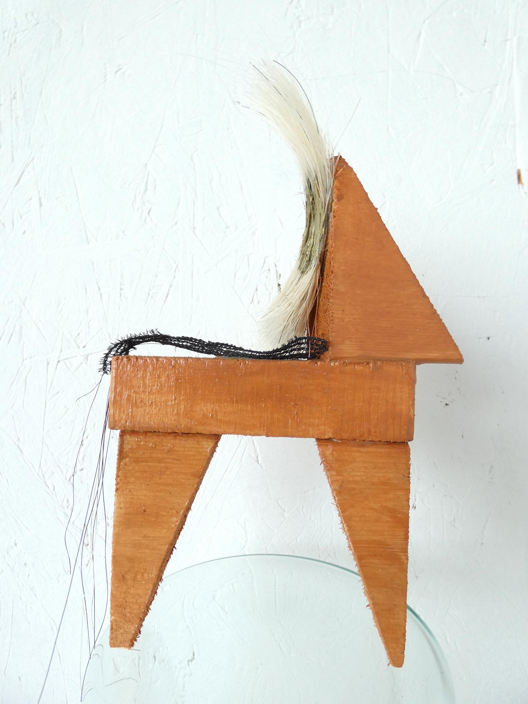 IJslander paardje object, icelandic horse, paardenhaar, artwork, kunst, art, artlovers, hout, kunst kopen, artcollectors, sculpture, art at home, kunstenaar Wietske Lycklama à Nijeholt