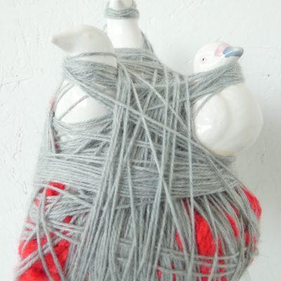 Ingewikkeld sculptuur, kunst voor in huis, art at home, kunstbeeld, duch artist, artlovers