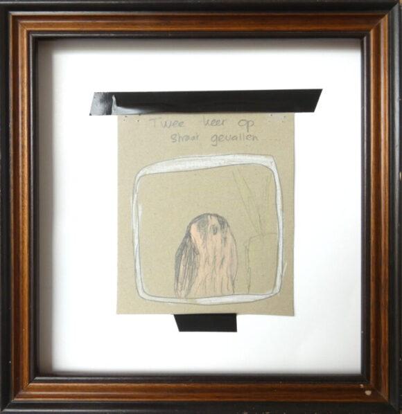 Torenvalk mixed media papier, kestrel, dieren kunst, figuratief, hedendaagse kunst, kunstenaar Wietske Lycklama à Nijeholt