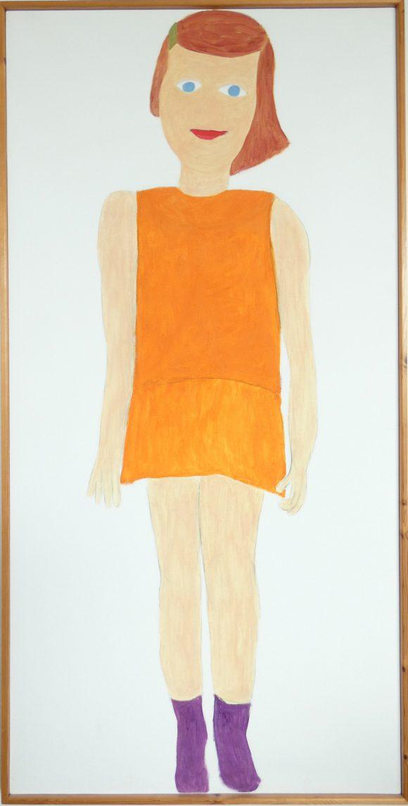 Famke, olieverfschilderij, hedendaagse schilderkunst, kunstenaar Wietske Lycklama à Nijeholt