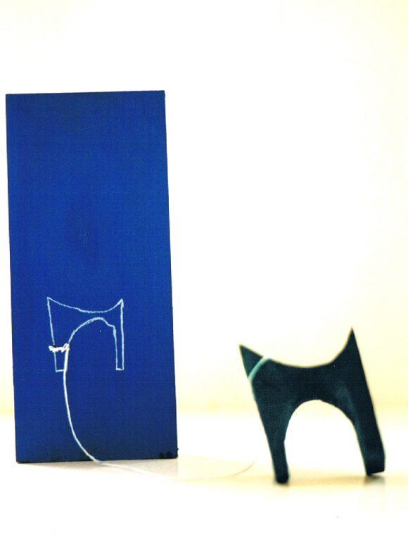 Hondje, dieren kunst, hedendaagse kunst, kunstenaar Wietske Lycklama à Nijeholt.