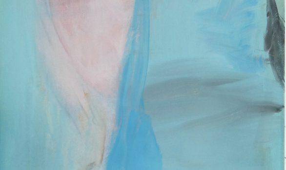 Huilende wolf, howling wolf, oilpainting, olieverfschilderij, dierenschilderij, figurative art, figuratief, contemporary art, hedendaagse schilderkunst, Wietske Lycklama à Nijeholt