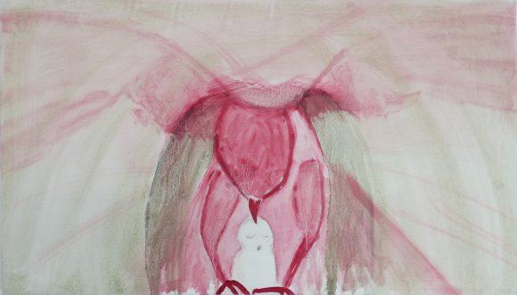 Roofvogel, Bird of prey, dieren kunst, olieverfschilderij dieren, vogel, hedendaagse schilderkunst, kunstenaar Wietske Lycklama à Nijeholt