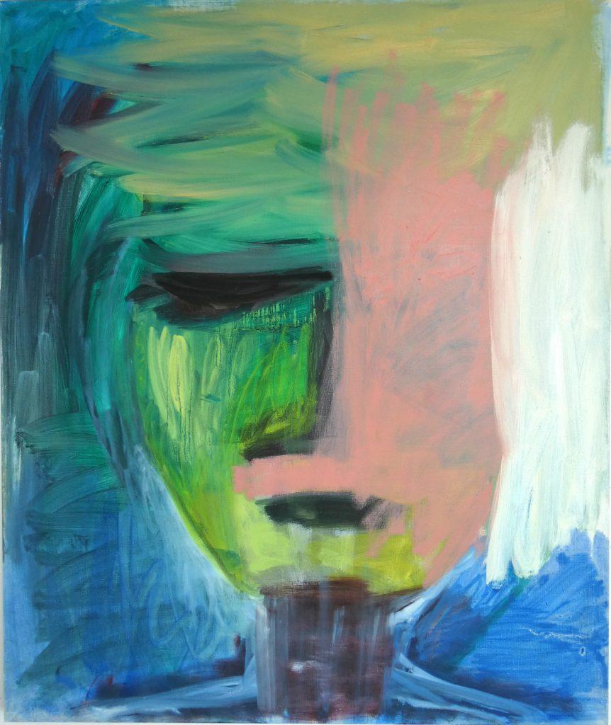 Scheppingsproces, creation process, olieverfschilderij, hedendaagse schilderkunst, kunstenaar Wietske Lycklama à Nijeholt