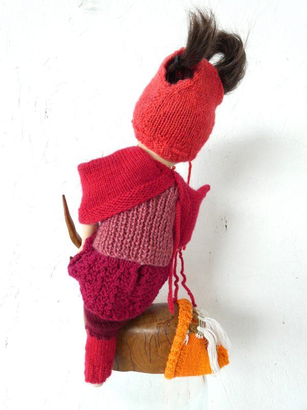 Breisels knits, textielkunst, kunstbeeld, ruimtelijk werk, textielkunst, textiel art, artwork, dutchartist, kunstenaar Wietske Lycklama à Nijeholt