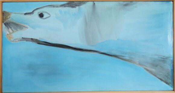 Wolf, olieverf schilderij, schilderij dieren, kunstschilderij dieren, artwork, dutch, figurative art, dutch art, modern art, dutch artist Wietske Lycklama à Nijeholt